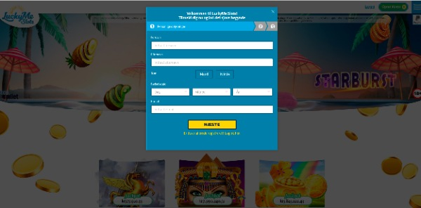 Lucky Me Slots 01 - registration