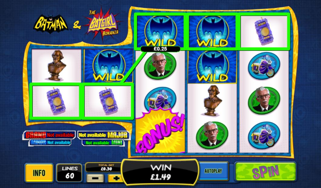 Batman & The Batgirl Bonanza Slots